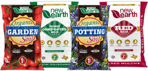 New Earth Compost bagged products