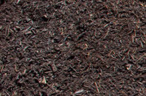 close up of 1/2 inch landscaper's compost
