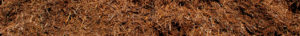 close up wide shot of double shredded cedar