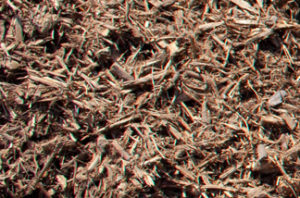 close up of kiddie cushion mulch