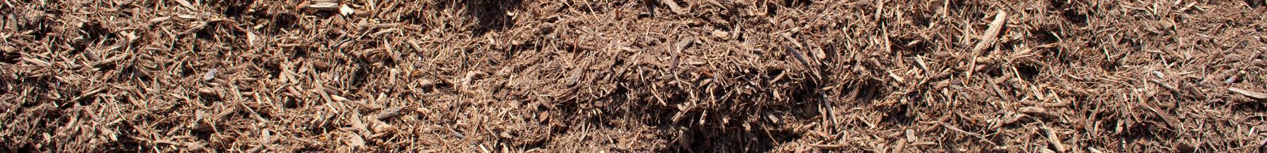 close up wide shot of kiddie cushion mulch