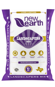 Landscaper's Mix 1 cubic foot bag (purple and gold colors)