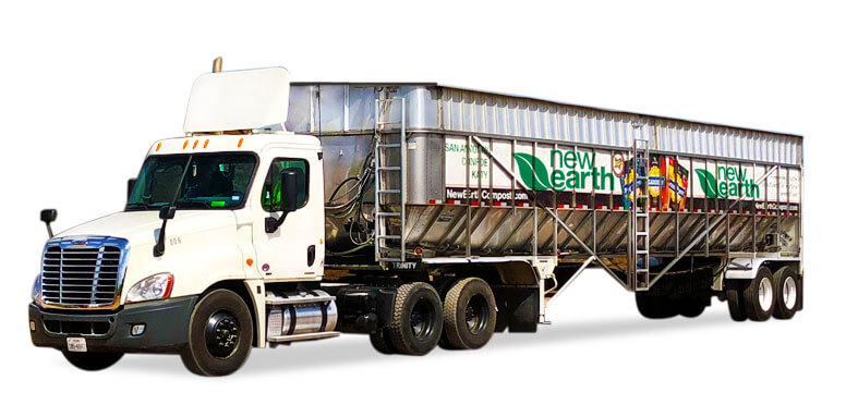 New Earth Compost Truck