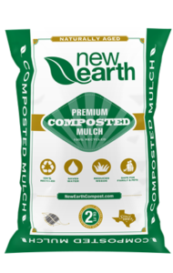 Premium Composted Mulch 2 cubic feet bag (Green and gold colors)