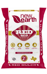 Red Mulch 2 cubic feet bag (red and gold colors)