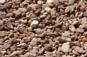 close up of assorted small river rock
